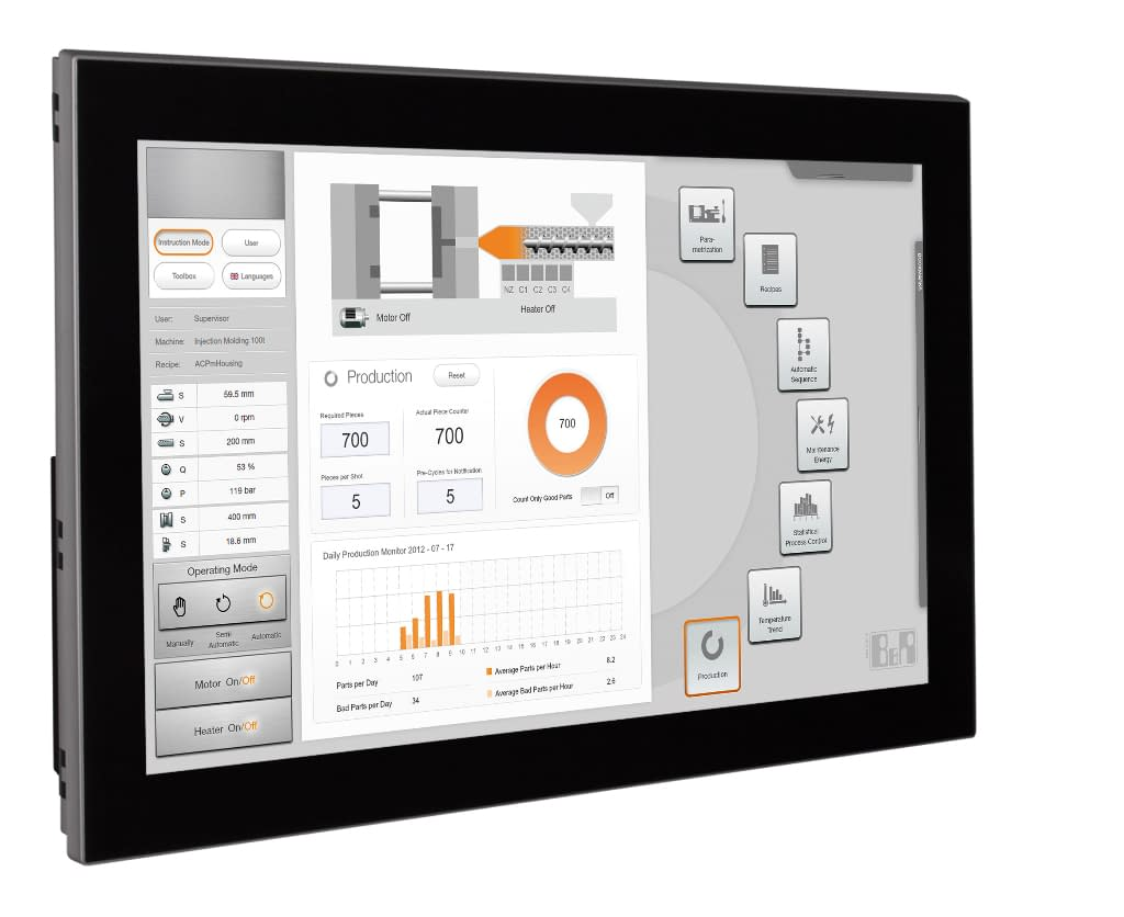 AlphaX Automation helps you turn any screen into a Human Machine Interface HMI.