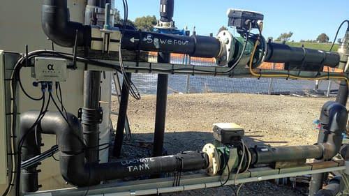 Smart Metering of Settlement Pond Discharge